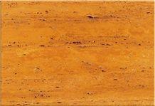 Yellow Soraya Travertine Slabs & Tiles, Iran Yellow Travertine