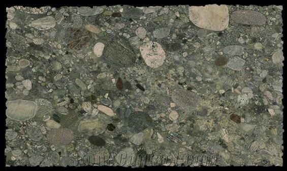 Verde Marinace Granite Slabs From Spain Stonecontact Com