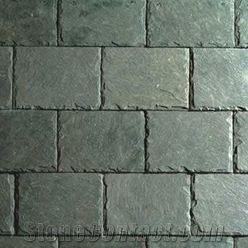 Green Slate Roofing Tile From Spain 1386 Stonecontact Com