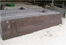Tan Brown Granite Slabs & Tiles, India Brown Granite