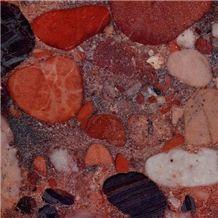 Aquarius Red Granite Slabs & Tiles, Brazil Red Granite