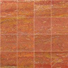 Arizona Red Travertine Slabs & Tiles, Turkey Red Travertine