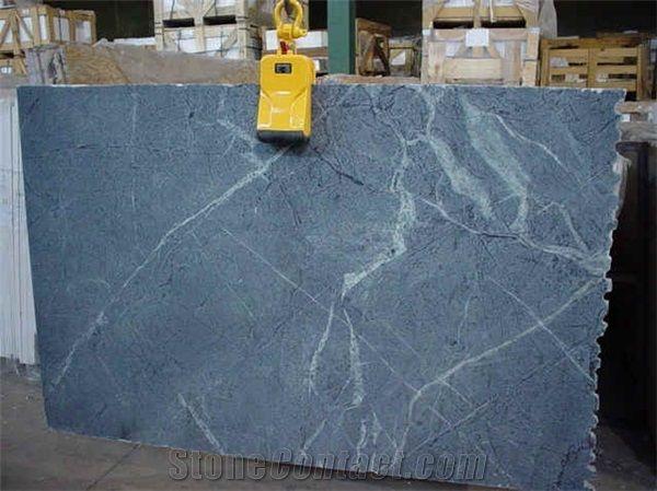 Buzio Soapstone Slabs Tiles Brazil Blue Soapstone
