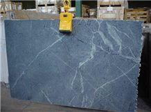 Buzio Soapstone Slabs & Tiles, Brazil Blue Soapstone
