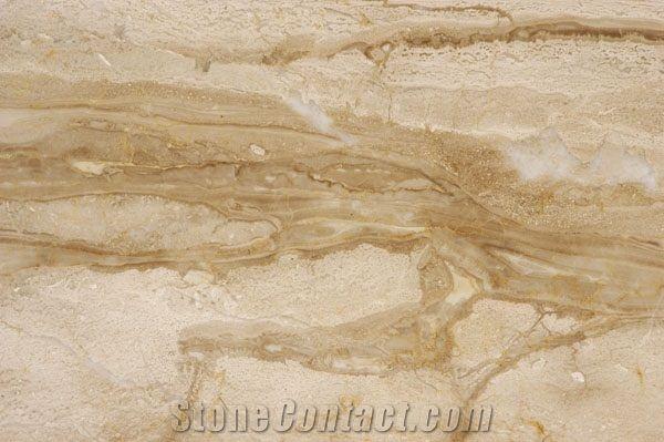 Karnezi Beige Marble Slabs Tiles From United States