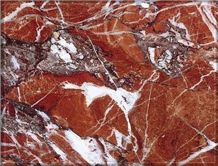 Eretria Red Marble Slabs & Tiles, Greece Red Marble