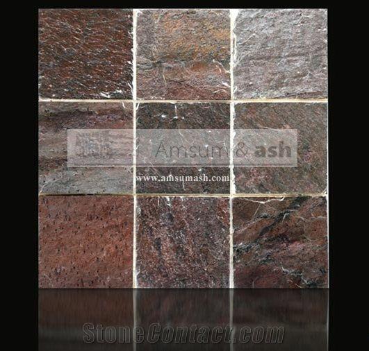 Copper Quartzite Slabs Tiles India Red Quartzite 23108