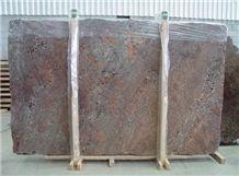 Juparana Crema Bordeaux Granite Slabs & Tiles