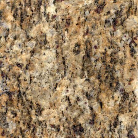 Giallo Santa Cecilia Granite Tile