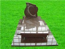 Red Granite Monument
