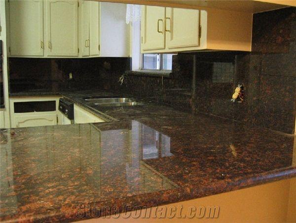 Tan Brown Granite Countertop From United States 4756