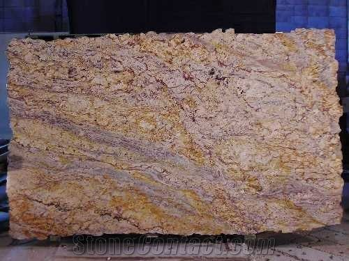 Typhoon Bordeaux Granite Slabs From Brazil 4812