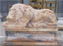 Sculpture Sleeping Lion (style No. SA-028)