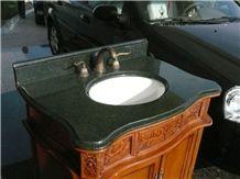 Green Galaxy China Granite Bathroom Vanity Tops, Vanity Top with Sink, Bathroom Countertop, Bathroom Tops