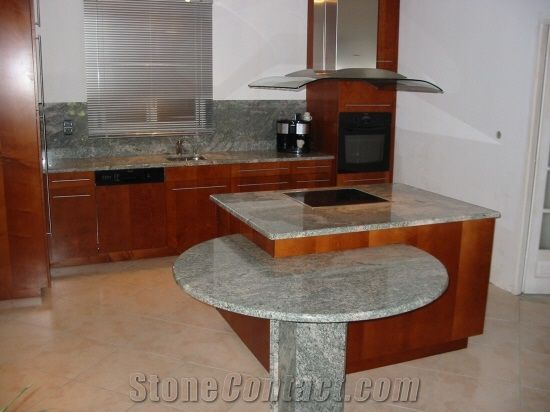 Grey Granite Countertop from France - StoneContact.