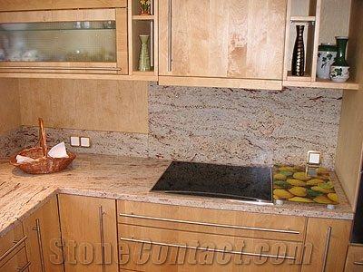 Shivakashi Granite Kitchen Worktops Sivakasi Pink Granite