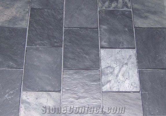 African Mazista Silver Blue Slate From Russian Federation
