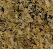 Giallo Santa Cecilia Granite Slabs & Tiles, Brazil Yellow Granite