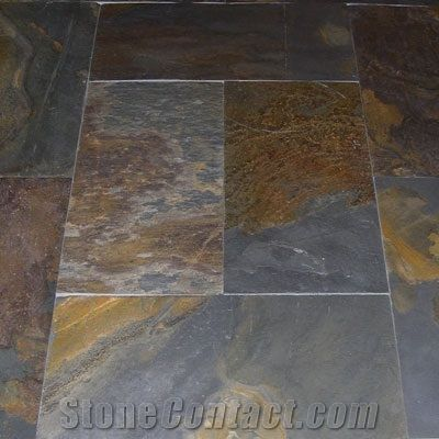 China Rust Slate Floor Tile From South Africa 7467 Stonecontact