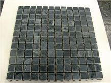 Black Minas Grey Soapstone Mosaic