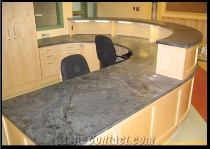 Soapstone Counters, Beleza Grey Soapstone Kitchen Countertops from ...