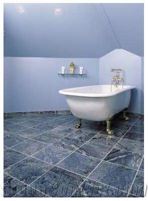 Azul Bahia Granite Bathroom Floor Slabs From Denmark