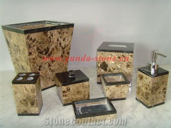 Brown Marble Bathroom Accessories from China ...