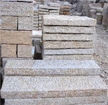 Beige Granite Kerbstone