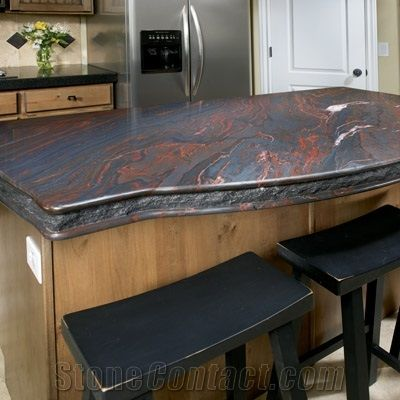 Iron Red Granite Island From United States Stonecontact Com