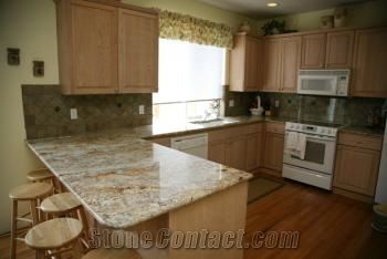 White Springs Granite Countertop