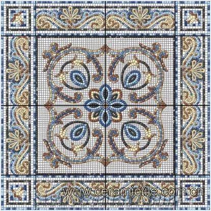 Art Floor Tile Patterns Ceramic