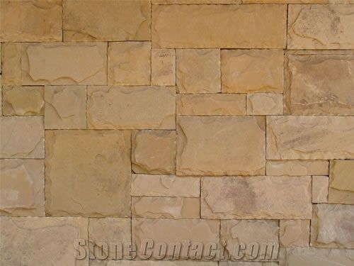 Swahili Sandstone Random Cladding From South Africa