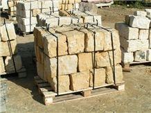 Poland Szydlowiecki Yellow Sandstone Bricks for Masonry