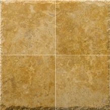 Dark Dorato Travertine Chiseled