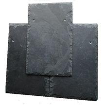 Brazilian Black Slate Roofing Tile, Graphite Black Slate Roofing Tiles