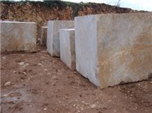 Marble Blocks, Turkey Beige Marble