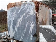 Anatolian Silver Marble Blocks, Grey Marble Blocks