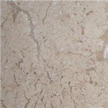 Fossil Travertine Light Tiles & Slabs, Beige Polished Travertine Floor Tiles, Wall Tiles