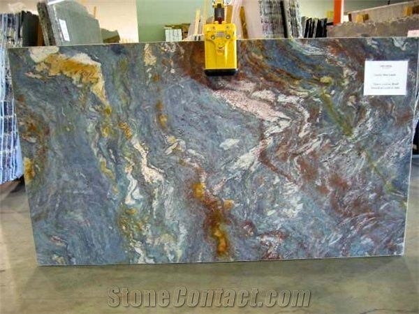 Blue Louise Granite Slabs From Italy Stonecontact Com