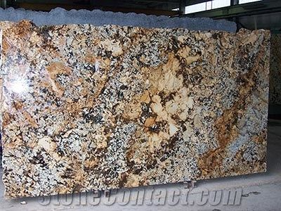 Mascarello Granite Slabs Brazil Yellow Granite From Italy
