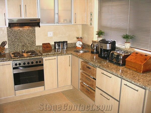 Yellow Granite Kitchen Countertops From South Africa 45245