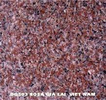 Rosa Gia Lai Granite, Red Granite
