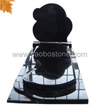 Black Granite Tombstones
