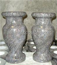 Granite Vases Tombstone Accessories