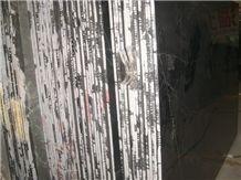 China Marquina Marble Slabs & Tiles, China Black Marble
