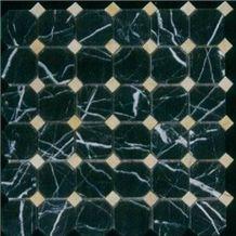 Black Marble Mosaic 004