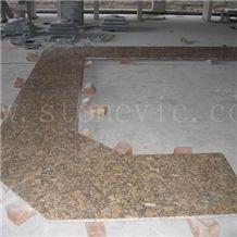 Brown - Gold Granite Countertop 17