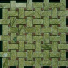 Green Marble Mosaic 002