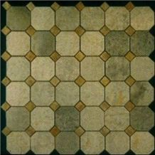 Light Green Marble Mosaic 003