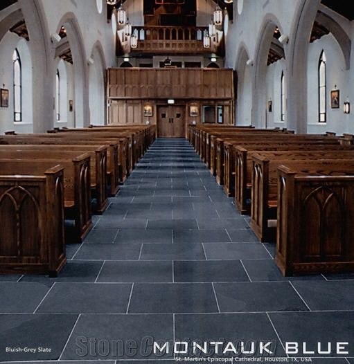 Montauk Black Montauk Blue Slate From Italy